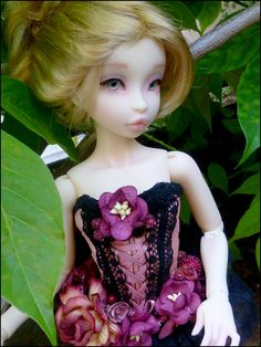 """By Asella of Noble Dolls""""Raspberry"""""""