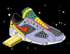 Space Sneakers' X Ghica Popa