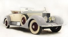 Star car: This stunning Rolls Royce Phantom I Playboy Roadster, which belonged to silent movie cowboy Tom Mix, is expected to sell for £130,000 at auction
