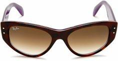 39bf1410e2 Amazon.com  Ray-Ban RB4152 Vagabond Cateye Sunglasses 53 mm