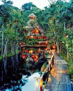 Sacha Jungle Lodge Amazon Primary Rainforest Lodge Ecuador