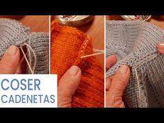 Costuras (Intro) Cómo coser cadenetas 🧶 Aprende a Tejer con Lucila - YouTube Bind Off, Baby Knitting Patterns, Knit Crochet, Lily, Bella Hadid, Blog, Accessories, Inspiration, Youtube