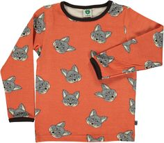 Smafolk T-Shirt LS Fox Arabesque