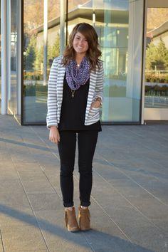 RACHEL SAYUMI | Fashion + Lifestyle Blog: The Comfiest Striped Blazer