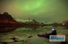 Wat een uitzicht! Noorderlicht is veel geduld en nog meer inspiratie.
