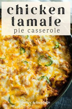 Chicken Tamale Pie, Chicken Tamales, Mexican Dishes, Mexican Food Recipes, Dinner Recipes, Chipotle Recipes, Tamale Sauce, Enchilada Sauce, Tamale Recipe