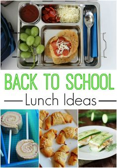 Back to School Lunch Ideas! Easy Lunch Box Hacks for Your Kids' School Lunches!