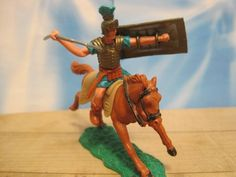 TIMPO BRITAINS SWOPPET ROMANS VINTAGE 1970s MARX ERA 60mm PLASTIC TOY SOLDIER #TIMPO