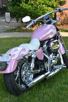 Pink 2005 Harley Davidson Sportster - Harley Davidson Forums