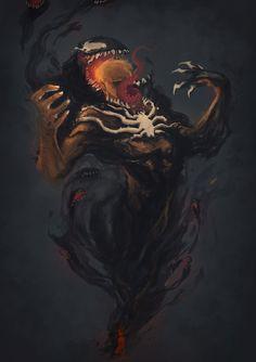 OZComics Venom Challenge by *PsychedelicMind