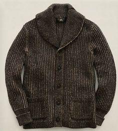 Ralph Lauren RRL knit jacket;)