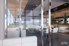 Бар Гранж в Балаклаве от Vitta-group ч2: интерьер, минимализм, ресторан, кафе, бар, 50 - 80 м2, зал #interiordesign #minimalism #restaurant #cafeandbar #50_80m2 #hall arXip.com