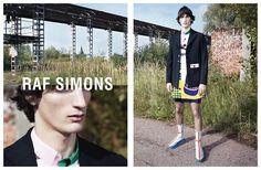 Raf Simons Spring/Summer 2014 Campaign