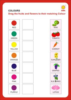Color Worksheets For Preschool, Kindergarten Addition Worksheets, Kindergarten Colors, Preschool Colors, Free Printable Worksheets, Colour Activities, Tracing Worksheets, Sign Language Alphabet, French Teaching Resources