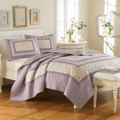 Laura Ashley Addison Lilac Purple Twin Quilt Blanket Cover New Laura Ashley, Ashley Home, Purple Bedrooms, Purple Bedding, Lavender Bedding, Dream Bedroom, Master Bedroom, Bedroom Decor, Bedroom Ideas
