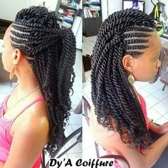 Twists natural hair Black Hair