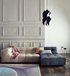 Living Room Design Ideas: 50 Inspirational Sofas #interiordesign #furnituredesign See more at: http://www.homedesignideas.eu/living-room-design-ideas-50-inspirational-sofas/