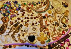 0.99 Estate Vintage Jewelry Lot