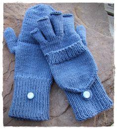 Hinter diesem Namen verbirgt sich eine ungemein praktische Erfindung: fingerlose Handschuhe mit Klappe zum überstülpen wenn es vorne zu kalt...