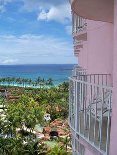 beach view from Coral Towers at Atlantis, Paradise Island, Bahamas 6/2011