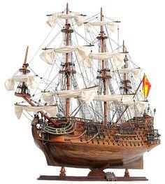 """37"""" San Felipe Model Ship"""