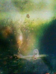 Sacred Pool (from The Map oracle cards by Colette Baron-Reid)