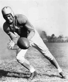 Earl (Dutch) Clark____Class of 1963   Quarterback. 6-0, 185   (Colorado College)   1931-1932 Portsmouth Spartans, 1934-1938 Detroit Lions. Called signals, played tailback, did everything superbly well . NFL's last dropkicking specialist. All-NFL six of seven years. NFL scoring champ three years. Led Lions to 1935 NFL title. Scored 368 points on 42 TDs, 71 PATs, 15 FGs . Player-coach final two seasons. Born October 11, 1906, in Fowler, Colorado. Died August 5, 1978, at age of 71.