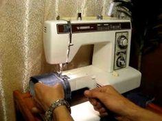 Sewing machine Швейная машина Vendomatic 7949 Германия test атлас, джинс...