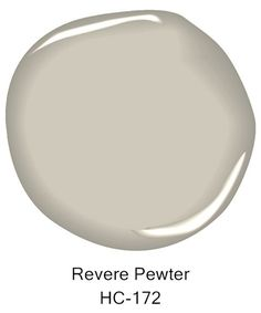 Here's the Best Way to Use Greige Paint in Your Home Benjamin Moore revere pewter / This light gray shade features warm undertones. Revere Pewter Living Room, Revere Pewter Paint, Revere Pewter Benjamin Moore, Benjamin Moore Colors, Revere Pewter Kitchen, Paint Colors For Living Room, Paint Colors For Home, Room Paint, My Living Room