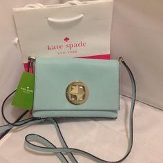 Kate spade cross body Authentic Kate spade cross body Authentic-color blehydrnga-size 7x5 kate spade Bags Crossbody Bags