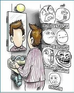 A Face A Day... - Posted in Funny, Troll comics and LOL Images - Entertain Club