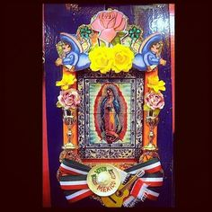 houseofguadalupe:    Available in our online shop http://houseofguadalupe.bigcartel.com/products #mexican #folk #art (Taken with instagram)