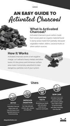 Don't let activated charcoal's appearance fool you. This super-fine black powder might look dirty, but it's actually an all-natural tool to help clean your body and remove toxins. For the full article, visit us here: http://paleo.co/charcoaluses