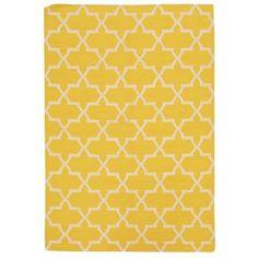 Ručne tkaný koberec Kilim Design One Yellow, 160x230 cm   Bonami