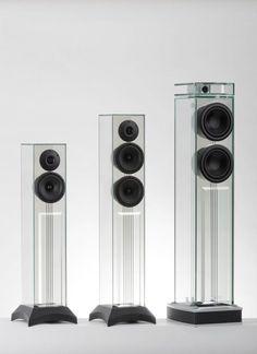 See through speakers