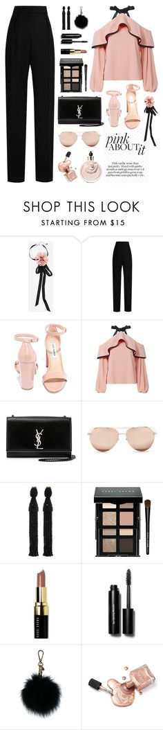 """COSMIC #2"" by ismidilianda ❤ liked on Polyvore featuring White House Black Market, Lanvin, Steve Madden, Alexis, Yves Saint Laurent, Linda Farrow, Oscar de la Renta, Bobbi Brown Cosmetics and MICHAEL Michael Kors"
