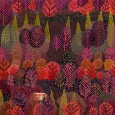 """turecepcja: """" Illustrations by Jane Newland, an artist from Norwich, Norfolk UK. """"I graduated from Maidstone College of Art with a degree in illustration, and since then my extensive freelance. Art And Illustration, Illustrations, Art Japonais, Design Poster, Arte Popular, Art Portfolio, Graphic, Art Inspo, Painting & Drawing"""