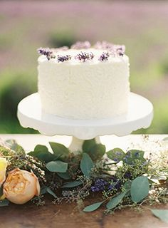 Lovely Provencial Lavender Inspiration via once wed