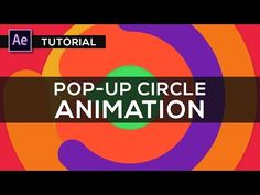 After Effects Tutorial : Pop Up Circles Animation for Intros - YouTube