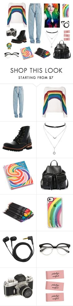 """""""Girl bites like a wolf..."""" by s-hiver ❤ liked on Polyvore featuring Off-White, Marc Jacobs, Skechers, Jessica Simpson, Dylan's Candy Bar, Steve Madden, Casetify and Sennheiser"""