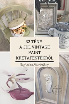 RegAndina Alkotóműhely: 32 tény a Vintage Paint krétafestékről Diy And Crafts, Restoration, Painting, Vintage, Entryway, Home Decor, Refurbishment, Homemade Home Decor, Entrance