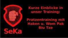 Pratzentraining mit Haken und  Wom-Pak-Biu-Tze (Trainingseinblick)