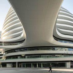Galaxy Soho by ZAHA HADID architects in Beijing, China
