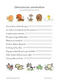 Cositas de AL y PT: enero 2012 Words, Special Education, Reading Comprehension, Learning, Vocabulary, Horse