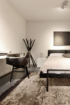 Letti design, camera design, arredo zona notte design presso lacasa interior design a Mendrisio. Arredamento camere canton Ticino.