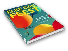 Mooie boekrecensie 'Elke dag feest' van Susan Amoraal bij deBoekensalon: 'Met humor en wijsheid presenteert ze dit feestelijk uitziende boek. Het leven is een feest maar je moet wel zelf de slingers ophangen en de ballonnen opblazen, is het motto. Leuk om te lezen, zet aan tot relativeren en het ontwikkelen van een open en nieuwsgierige houding. Informatief en verfrissend. #elkedagfeest #susanamoraal #deboekensalon #futurouitgevers
