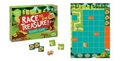 Unlike most games Race to the Treasure encourages kids to help each other to beat the game. This way, kids work together, they help each other, and everybody wins. A cooperative game eliminates stress, builds self-esteem, and teaches kids that playing together can be fun.