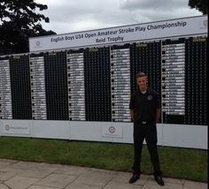 Good luck to CMGC's Jack Severn who is playing in the English Boys' Under 14 Open Amateur Stroke Play (Reid Trophy) starting tomorrow.  Great to see Jack representing the club in such a big competition and we wish him the very best of luck.