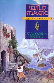 The Castle Library - High Fantasy Novels for Young Adults: Wild Magic (Tamora Pierce)