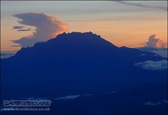 An aerial view of Mount Kinabalu's staggering stature! It is an icon of the natural world after all! Mount Kinabalu, Sea Level, Borneo, Aerial View, Natural World, Exotic, Tropical, Mountains, Places